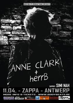 30/03/2014 : ANNE CLARK - Anne Clark + herrB - Interview for the underground