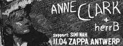 30/03/2014 : ANNE CLARK - Anne Clark + herrB - Interview for the underground