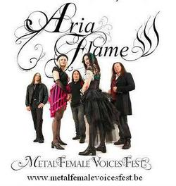 08/08/2014 : ARIA FLAME - It would be awesome to do a tour with Epica or Nightwish! But First: The Metal Female Voices fest!