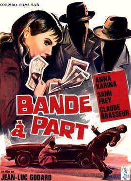 11/03/2015 : JEAN-LUC GODARD - BANDE A PART