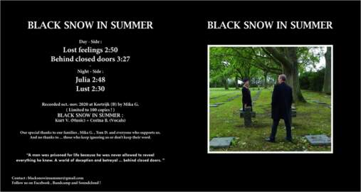BLACK SNOW IN SUMMER Lost Feelings