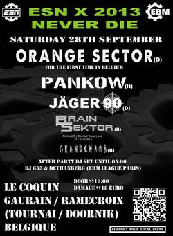 21/08/2013 : BRAIN SEKTOR - WEEE gonna kick your ass!!!