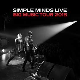 SIMPLE MINDS Brussels, Vorst Nationaal (14/11/2015)