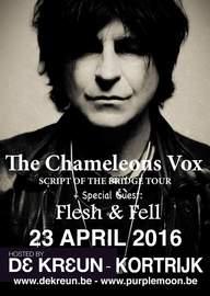 CHAMELEONS VOX Kortrijk, De Kreun (24/04/2016)