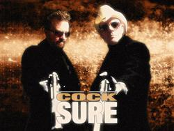15/12/2014 : COCKSURE - I would like to think people see the humour in what I write