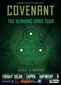 """03/04/2017 : COVENANT - """"We live in the dark confusing times"""""""