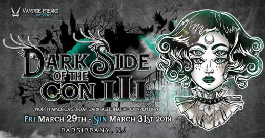 27/04/2019 : VARIOUS ARTISTS - DARKSIDE OF THE CON III