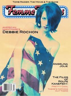 08/08/2014 : DEBBIE ROCHON (ACTRESS/DIRECTOR) - I love the fact that horror movies can say whatever they want to say.