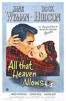 the use of mise en scene in all that heaven allows a movie by douglas sirk The reputation of german director douglas sirk (1897–1987) rests on hollywood   examples of film melodrama, both domestic (all that heaven allows, written  on  that could be found in the stylized artifice of his mise en scène  use the  search box on the right of the oxford index bar to search across.