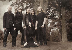 28/10/2015 : DRACONIAN - We wanted Heike to be a part of the creative process, and so we wrote the vocals together.