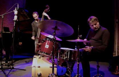 DRE PALLEMAERTS, CLEMENS VAN DER FEEN & PASCAL MOHY Mechelen, Jazzzolder (28/10/2016)