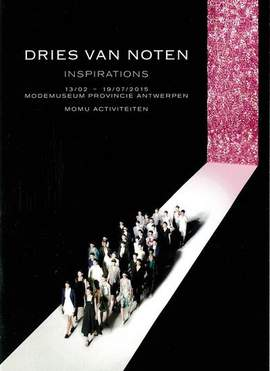DRIES VAN NOTEN Inspirations (Antwerpen, Modemuseum, until/tot 19/7/2015)