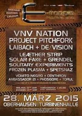 01/04/2015 : E-TROPOLIS FESTIVAL - Germany (2015)