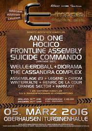 E-TROPOLIS FESTIVAL 2016 Oberhausen (5/03/2016)