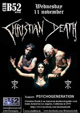 CHRISTIAN DEATH Eernegem, B52