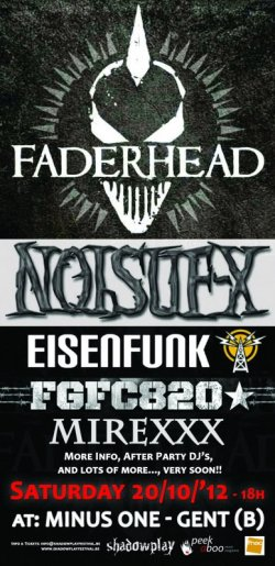 29/08/2012 : EISENFUNK - On Their Way To Conquer Electroland