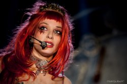 29/12/2011 : EMILIE AUTUMN - I'm a Muppet crossed with a unicorn!
