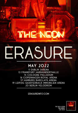 31/07/2021 : ERASURE - 'I'm preparing tracks for our up and coming tour' - An exclusive Interview with Vince Clarke