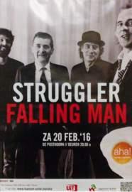 STRUGGLER & FALLING MAN Hamont, De Posthoorn (20/02/2016)
