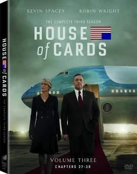 16/07/2015 :  - HOUSE OF CARDS SEASON 3