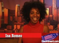 16/09/2014 : INA ROMEO (ACTRESS-COMEDIAN) - You have to be able to laugh at everything. Maybe not at the time the event occurred, but timing is everything in comedy.