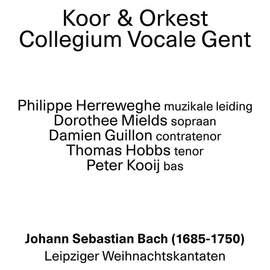 18/12/2015 : JOHANN SEBASTIAN BACH - Leipziger Weihnachtskantaten (Koor & Orkest Collegium Vocale o.l.v. Ph.Herreweghe, Antwerpen, deSingel, 17/12/2015)