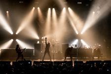 23/11/2015 : LA MUERTE - EViL (live at the AB)