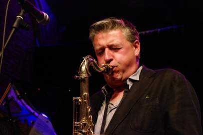 LAURENT DOUMONT QUARTET Mechelen, Jazzzolder (23/09/2016)