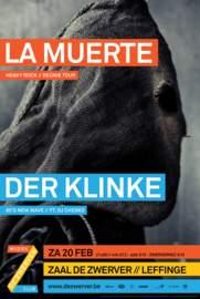 DER KLINKE/LA MUERTE Leffinge, Zaal De Zwerver (20/02/2016)
