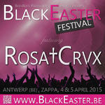 02/08/2014 : ROSA†CRVX - Live in Thoix (Dark Ritual Night IV) & Lisse (Castlefest)