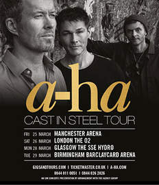 A-HA London, O2 Arena (26/03/2016)