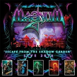MAGNUM Escape from the Shadow Garden live 2014 (CD or LP)
