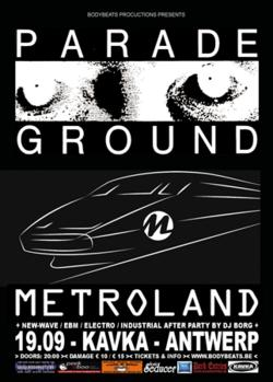16/09/2014 : METROLAND - Someone was selling our tracks on E-bay as demo versions from the next Kraftwerk album!