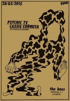 PSYCHIC TV Antwerpen, Het Bos (28/03/2015)