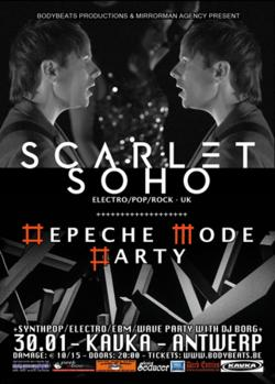 22/08/2014 : SCARLET SOHO - We hope to be remembered as a live band over everything else!