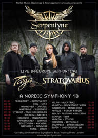 30/10/2018 : SERPENTYNE - European Tour 2018