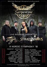 30/10/2018 : SERPENTYNE - European Tour 2018