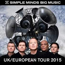 SIMPLE MINDS Antwerp, Lotto Arena (15/11/2015)
