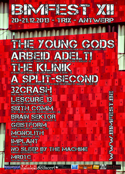 26/11/2013 : THE KLINIK - It's nice to find out that THE KLINIK is known worldwide and we can play everywhere, because making music and playing live is the reason to continue.