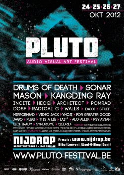 20/09/2012 : THE PLUTO FESTIVAL - ...the festival is an exploration for the senses, away from to narrow-minded views on music or art.