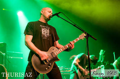 THURISAZ, DYSCORDIA, ITCHILIEN, VERMILION Thurisaz releaseparty 3 april 2015, JH Den Tap Kuurne.