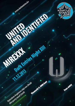 25/11/2015 : UNITED AND IDENTIFIED - United & Identified shortens nicely to You & I (U & I). The idea behind this is that we are all united, yet unique and identifiable.