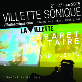 CABARET VOLTAIRE, CARTER TUTTI & ANDY STOTT Paris, Villette Sonique (24/05/2015)