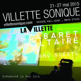 CABARET VOLTAIRE, CARTER TUTTI & ANDY STOTT Paris, Villette Sonique (24/05/2015)