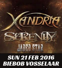 JADED STAR/SERENITY Vosselaar, Biebob (21/02/16)
