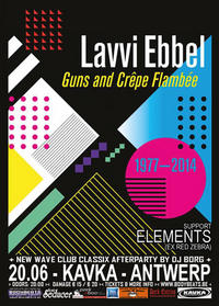 CONTEST : Win a Lavvi Ebbel double 12' or CD! : Guns and Cr�pe Flamb�e (2 x Double Vinyl / 2 x CD)