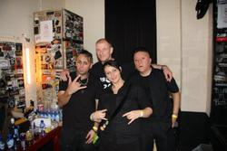 08/07/2013 : XMH - Working together with Erk Aicrag from Hocico or Nic Endo from Atari Teenage Riot would be great!