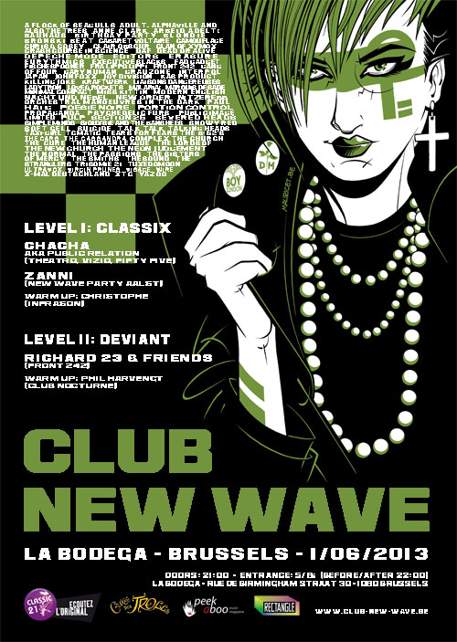 Club New Wave - episode 8, La Bodega, Brussels, 01/06/2013
