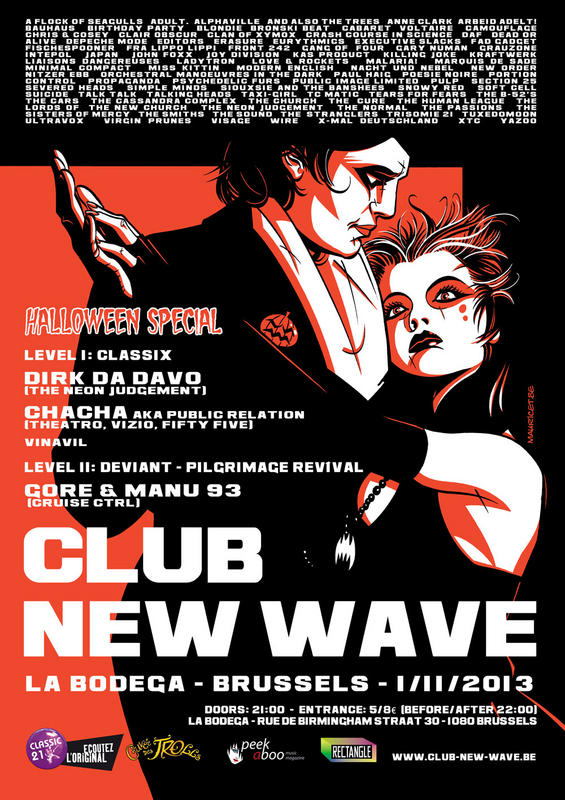 CLUB NEW WAVE - EPISODE 9 - HALLOWEEN SPECIAL, La Bodega - Brussels
