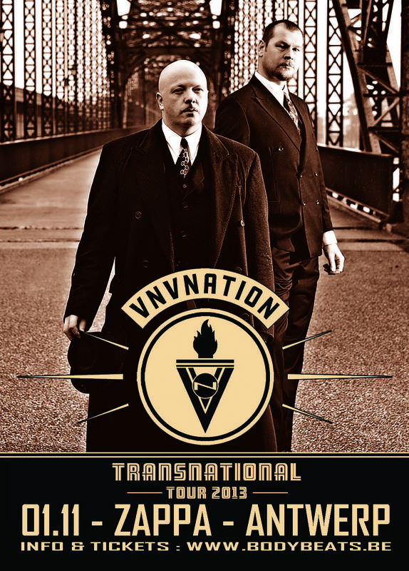 VNV NATION - TRANSNATIONAL TOUR, Zappa, Antwerp